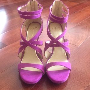 Jessica Simpson strappy heels new. Size 8
